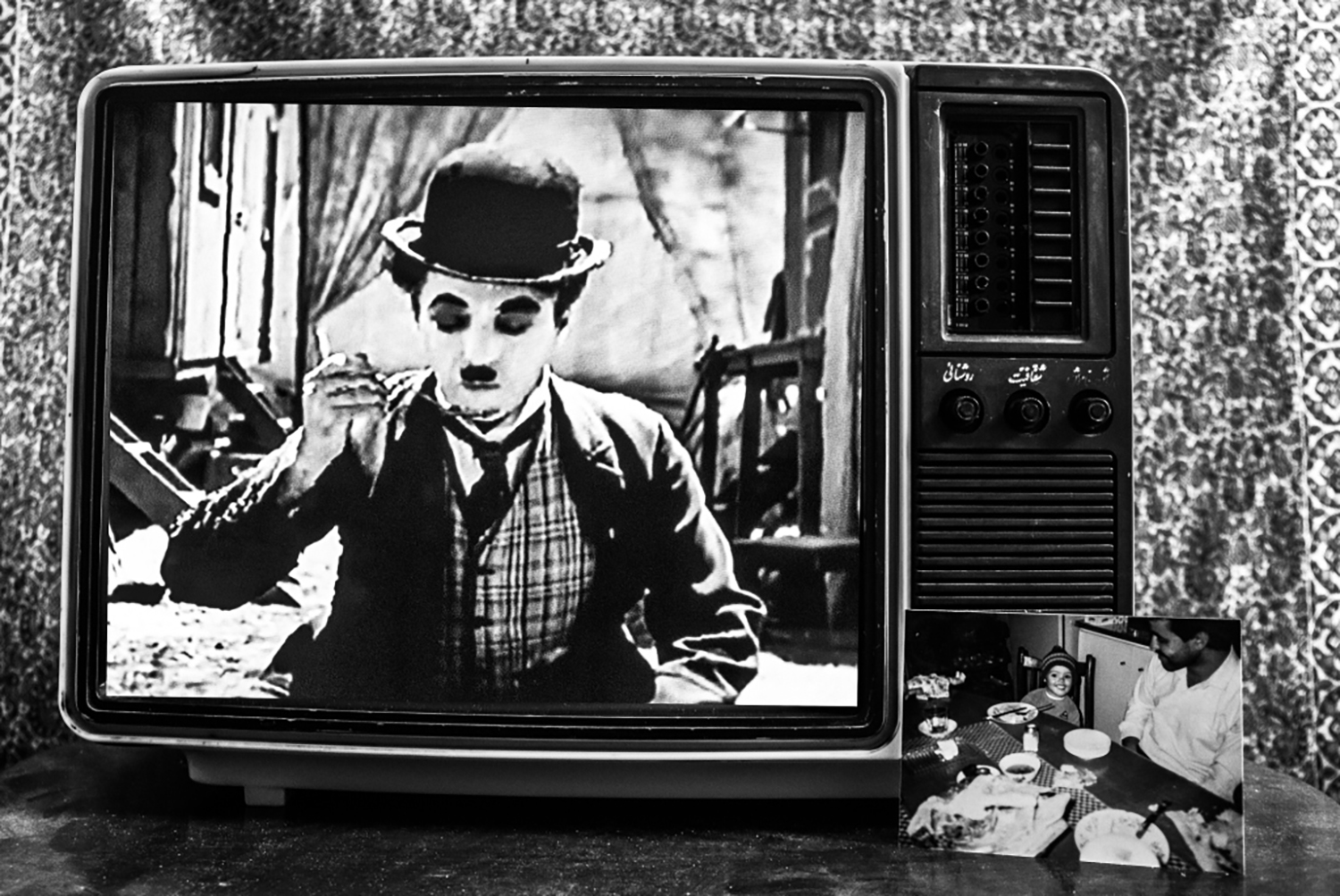 """My older sister used to watch """"Charlie Chaplin"""" while eating."""